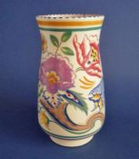 Large Poole Pottery AP Pattern Vase by Truda Carter c1935